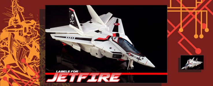 Labels for Gen. Jetfire (Macross)