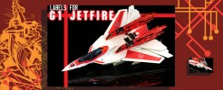 Labels for Gen. Jetfire