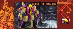 Labels for Gen. Blitzwing