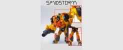 Labels for Gen. Sandstorm