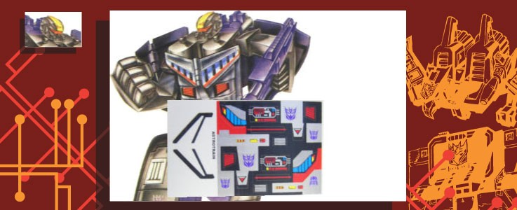 Labels for Astrotrain