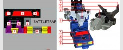 Labels for Battletrap