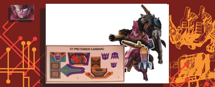 Labels for Carnivac