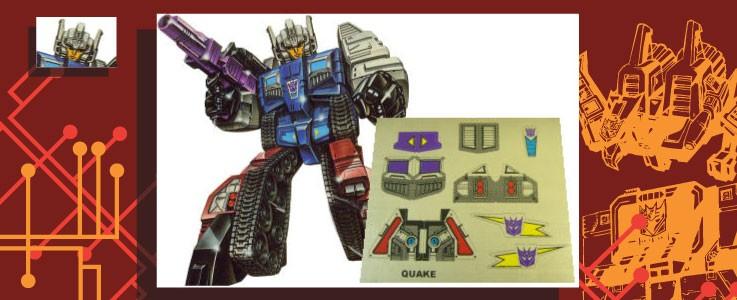 Labels for Quake