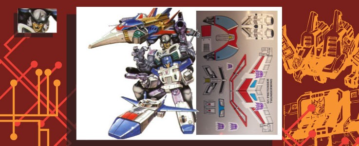 Labels for Thunderwing