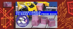 Labels for 3 Energon Cubes