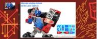 Labels for Laser Optimus Prime