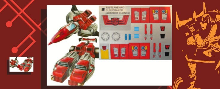 Labels for Autobot Clones