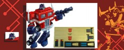 Labels for Optimus Prime (cab only)