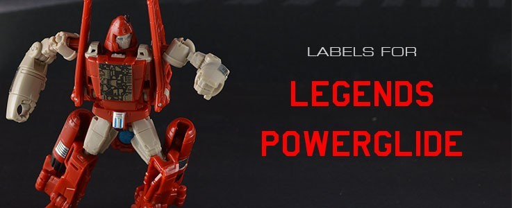 Labels for Generations Powerglide