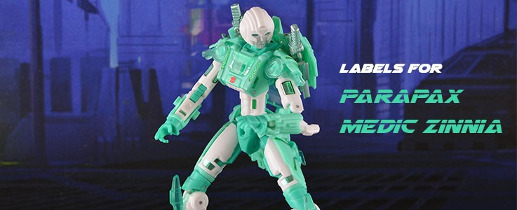 Labels for MMC Zinnia
