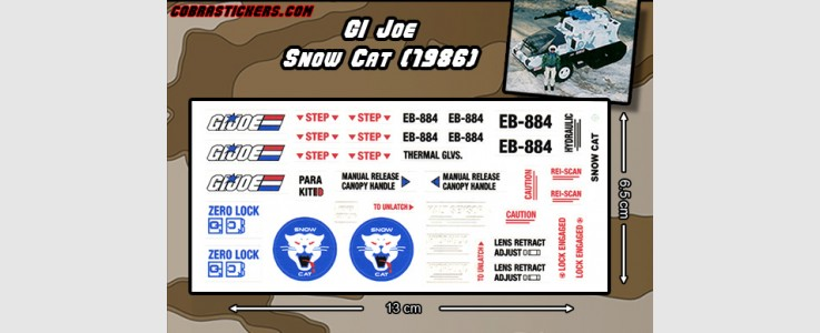 Snow Cat (1986 - GI Joe)