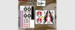 Conquest X-30 (1986 - GI Joe) 2 sheet