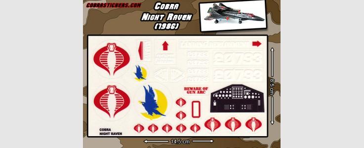 Night Raven Stealth Plane (1986)