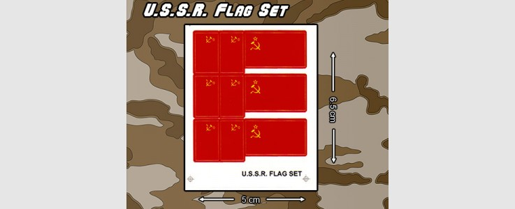U.S.S.R. Country Flag