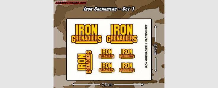 Iron Grenadiers 1