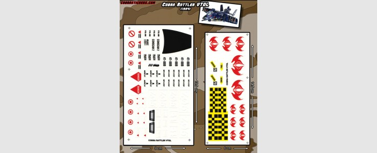 Rattler VTOL Jet (1984) 2 Sheet