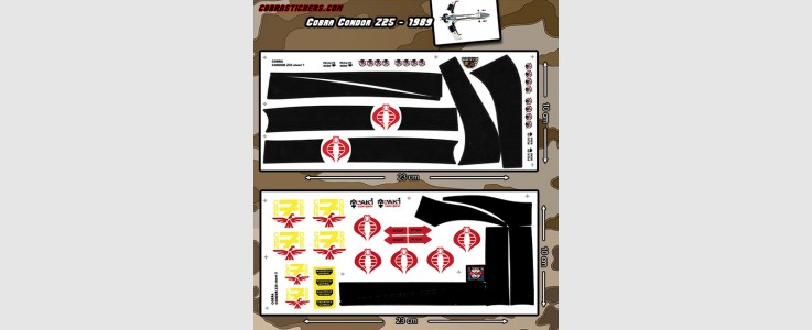 Condor Z25 (1989 - Cobra) 2 Sheet