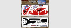 Avro Arrow custom set for Sky Striker 2 sheet