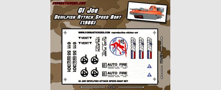 Devilfish Speed Boat (1986)