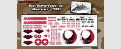 Night Boomer Combat Jet (Nightforce - 1989)