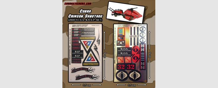 HISS Crimson Sabotage - 2004
