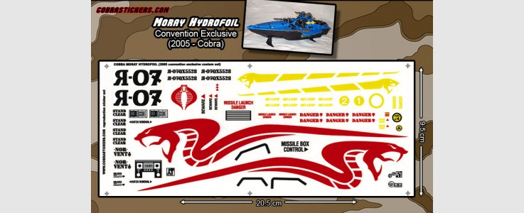 COBRA Hydrofoil CONVENTION exclusive (2005)