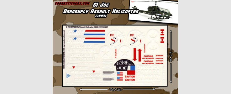 Dragonfly Assault Helicopter (1983)