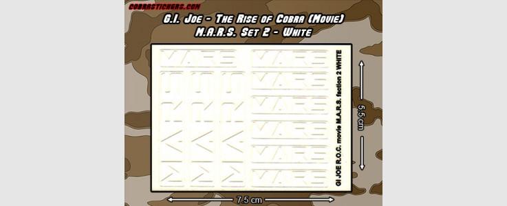 M.A.R.S. (Movie Version) Set 2 (White)