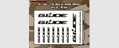 The Rise of Cobra - Set 6 - Black