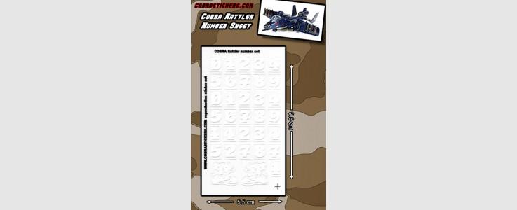 Rattler Number Sheet