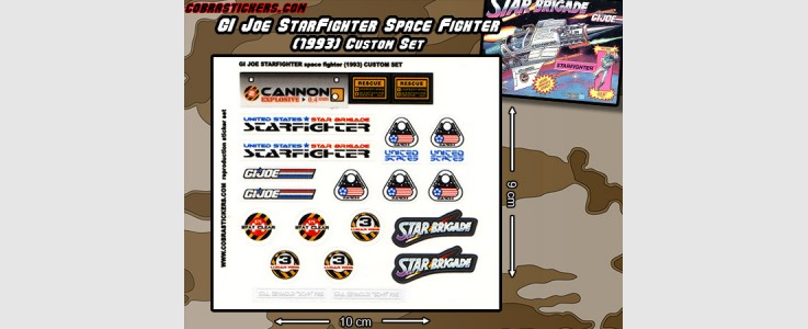 Starfighter Space Fighter Custom Set