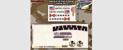 Phantom X-19 Stealth Fighter (2 sheet)