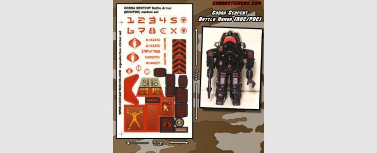 Snake Armor Cobra Serpent Battle Armor (ROC/POC)