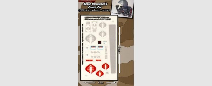 Cobra Commander's Flight Pod (2008 Store Exclusive)