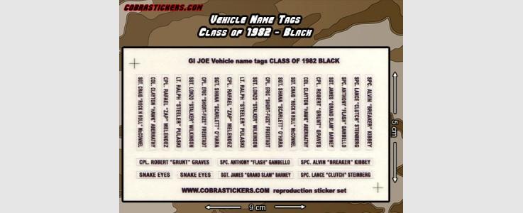 Class of 1982 - Black