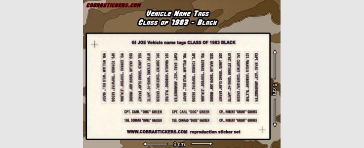 Class of 1983 - Black