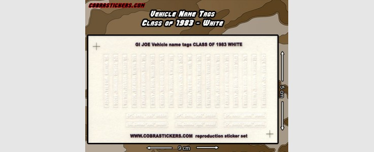 Class of 1983 - White
