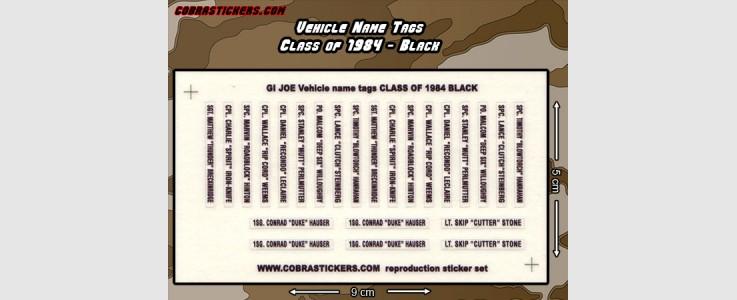 Class of 1984 - Black