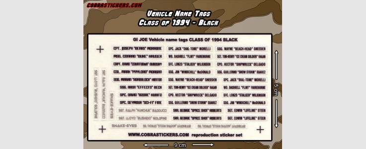 Class of 1994 - Black