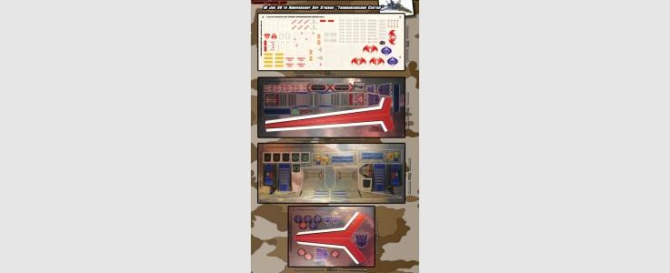Skystriker XP-21F 'Thundercracker' Custom Set (4 sheet)