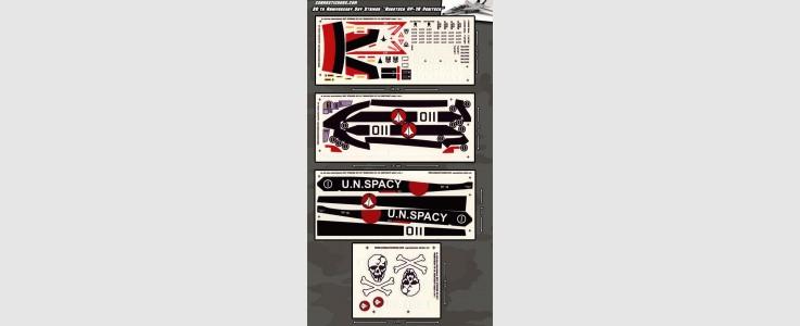 """Skystriker XP-21F """"Robotech VF-1A Veritech"""" (4 sheet)"""