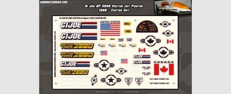 Battle Force 2000 Vector - Jet Fighter