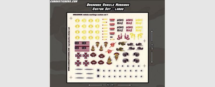 Dreadnok Vehicle Markings - Large set 1