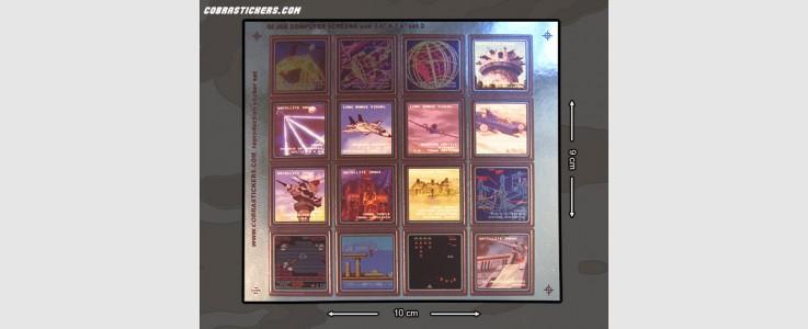 "Generic Computer Screens (Large - 3/4"" x 3/4"") Set 2"
