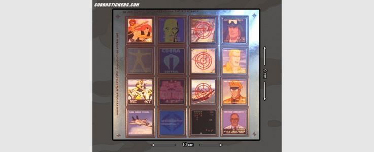"Generic Computer Screens (Large - 3/4"" x 3/4"") Set 4"