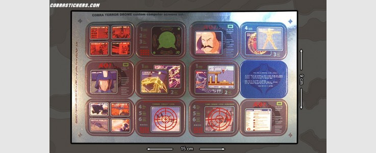 Terror Drome Custom Screens