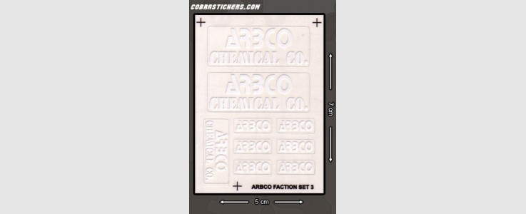 ARBCO Chemical Co. (White)