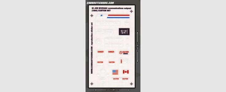 Bivouac Communications Outpost - Custom Set