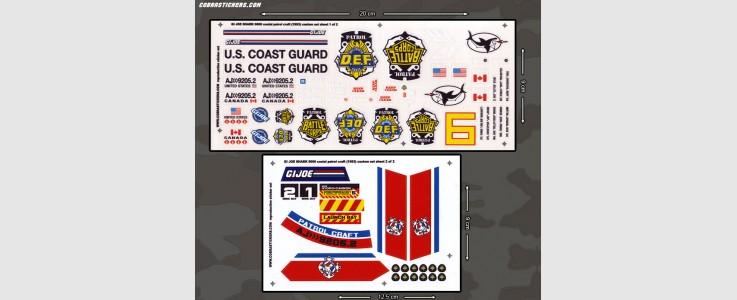 Shark 9000 Coastal Patrol Craft - Custom Set